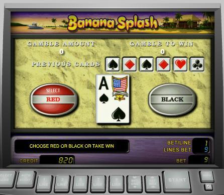 игровой автомат Banana Splash играть бесплатно